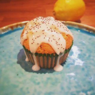 Citroencupcakes met maanzaad