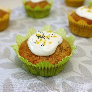 Cupcakes   citroen en maanzaad