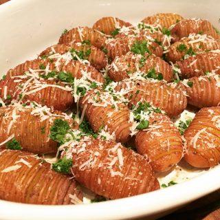 Hasselback aardappeltjes
