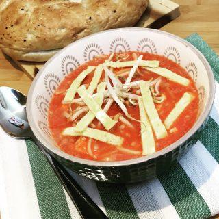 Aziatische tomatensoep
