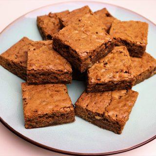 Blondies | Cashewnoten en melkchocolade