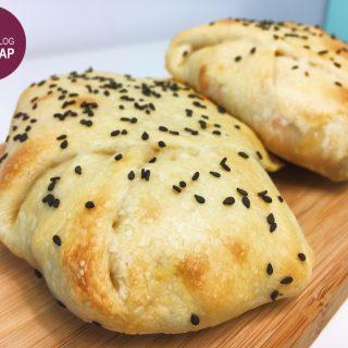 Flammkuchen Calzone | Foodblogswap