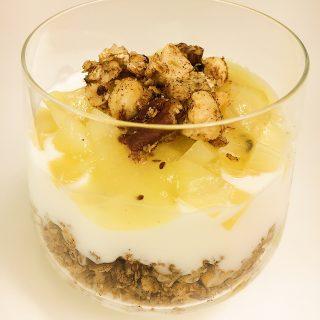 Feestelijk kiwi-ontbijt