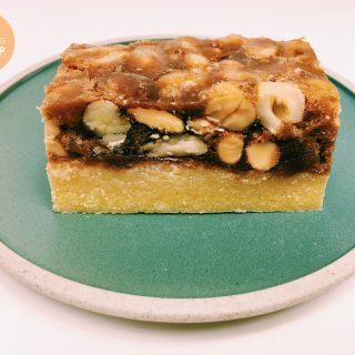 Karamel-notenrepen | Foodblogswap