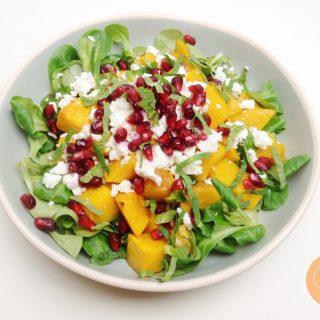 Pompoensalade met granaatappel | Foodblogswap