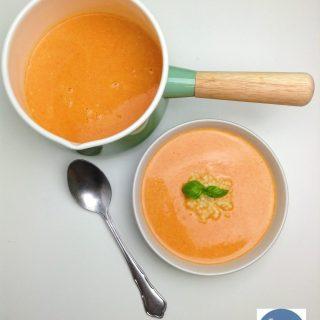 Geroosterde paprika-tomatensoep | Foodblogswap