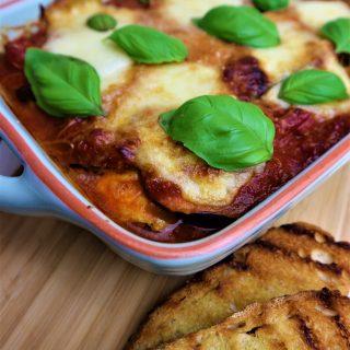 Melanzane alla Parmigiana   Aubergine lasagne
